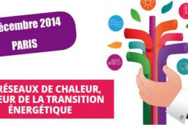 10<sup>e</sup> rencontre nationale des réseaux de chaleur le 3 décembre 2014 à Paris