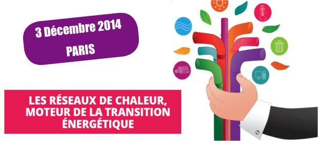 10e rencontre nationale des réseaux de chaleur le 3 décembre 2014 à Paris