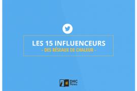 Top 15 des influenceurs Twitter dans le secteur des réseaux de chaleur