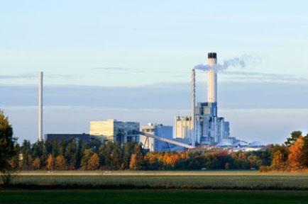 Exemple d'une centrale d'un réseau de chaleur qui allie optimisation de sa production d'énergie, trading d'électricité et incinération d'ordures ménagères.