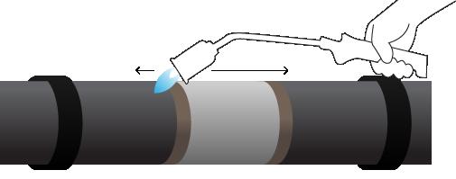 Poser des manchons sur un réseau de chaleur : pourquoi, comment ?