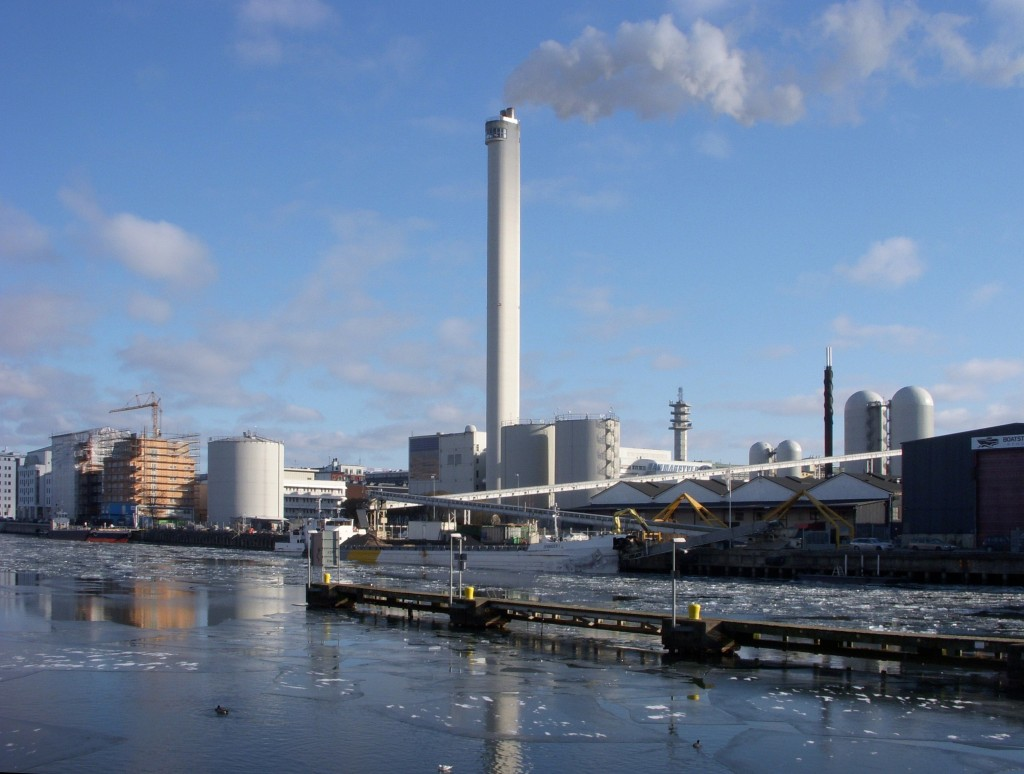 Réseau de froid d'Hammarbyverket