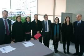 Inauguration de la géothermie à Clichy-Batignolles