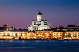 Des îles flottantes seront créées par Carlo Ratti pour le stockage d'énergie à Helsinki